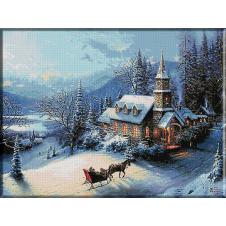 peisaj-de-iarna-goblen