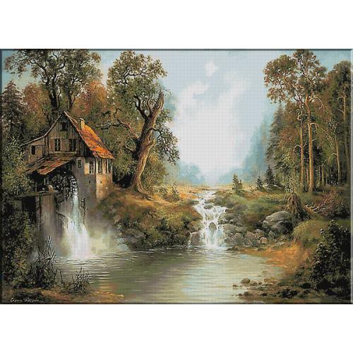 1316. Cezary Rozycki - Moara de apa