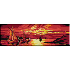 078. Barci in apus