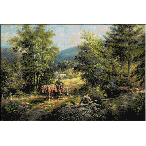 1351.Lamson - Noroc la pescuit
