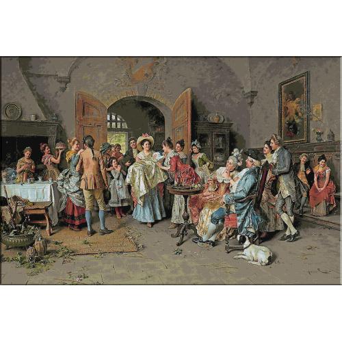 1640.Arturo Ricci - Botez fericit !