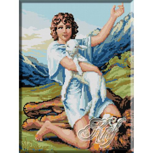 085. David cu mielul