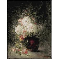 1431. Grigorescu - Vas cu flori
