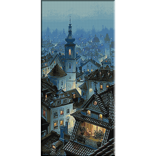 1645. Undeva intr-un oras vechi