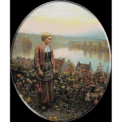 1289.Knight - Maria pe terasa la Rolleboise
