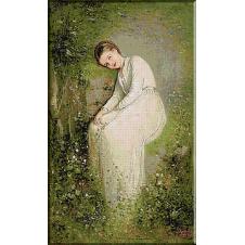 1426 N.Grigorescu- O floare intre flori