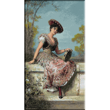 1508 - Carl Schweninger jr. Fata cu tamburina