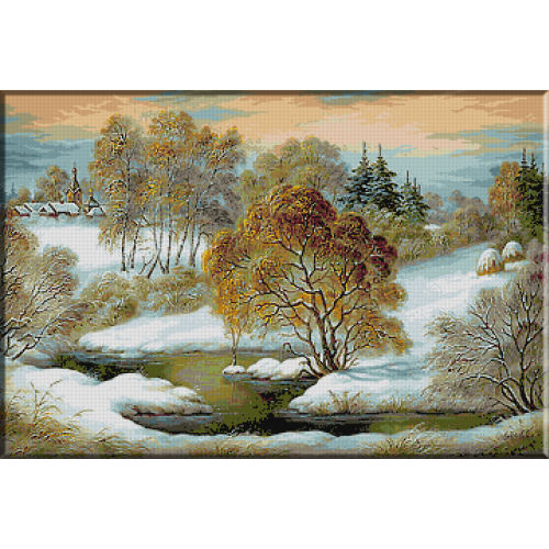 1570. Linistea iernii
