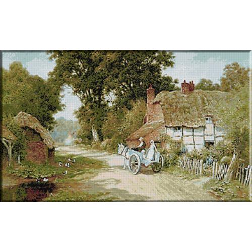 1822. Arthur Claude Strachan - Drumul spre Warwickshire