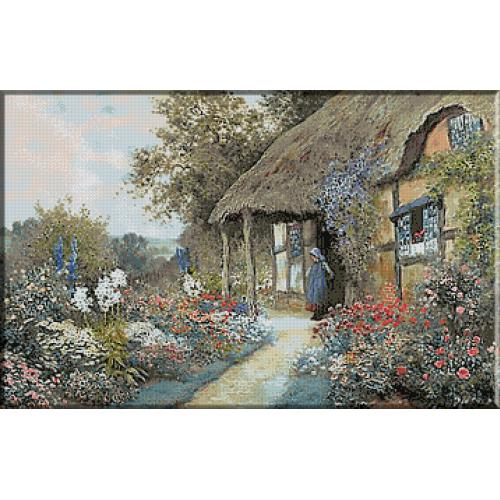 1824. Arthur Claude Strachan - In gradina casutei