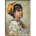 116. Grigorescu.Portret de fata