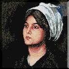 122.Grigorescu- Fata cu tulpan