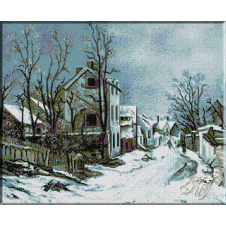 124.Andreescu- Iarna la Barbizon