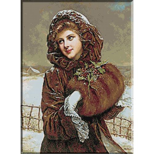 1625. Martin Kavel - Tanara cu manson