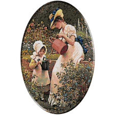 1704.George Dunlop Leslie - Micuta gradinareasa.