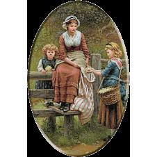 1705.George Dunlop Leslie - La cules de soc