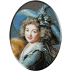 1120b. Le Brun - Portretul Doamnei Mole-Raymond