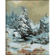 1386.Moran.Iarna printre stanci
