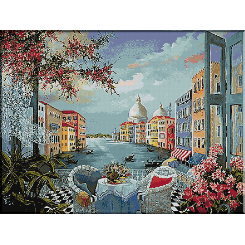 1826. Vedere din Venetia