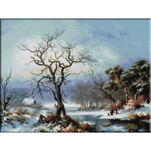 973.Kruseman-Culegatori de lemne