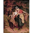 1651.Theodore Gerard - Intoarcerea de la piata