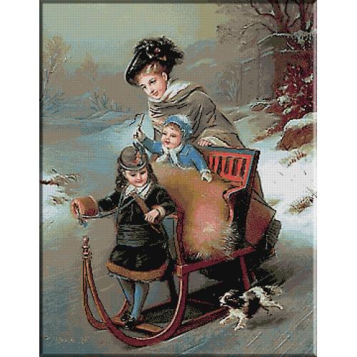 1932.CONSTANT JOSEPH BROCHART - Bucuriile iernii