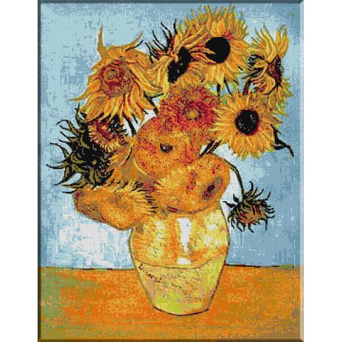 453.VanGogh - Vas cu floarea soarelui