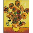 454 . Van Gogh - Vas cu floarea soarelui