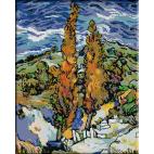 456.Van Gogh - Plopi pe deal