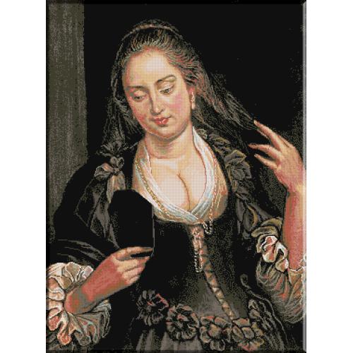 622. Femeia cu oglinda