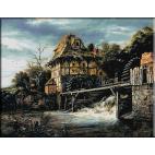 828.Van Ruisdael - Doua mori de apa
