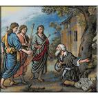 152.Murillo- Abraham si ingerii