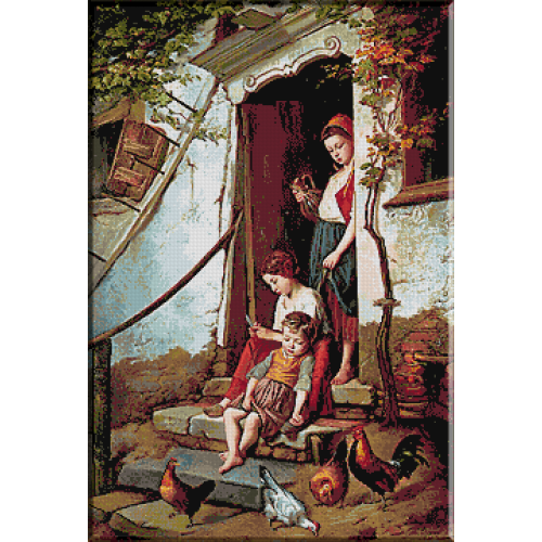 1649.Theodore Gerard - Copiii fermierului