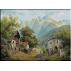 1863.Karl Flieher - Drum vechi de sat