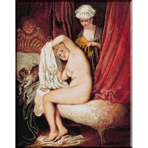 197.Watteau- Toaleta
