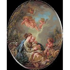 1993.Boucher- Madona cu copil