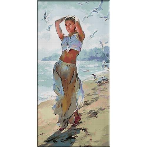 2108.O plimbare pe plaja