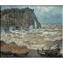 347.Monet - Faleza la Etretat