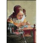 1838. Vermeer - Dantelareasa