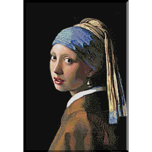 1839. Vermeer - Fata cu cercel de perla
