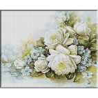 1871.Trandafiri albi