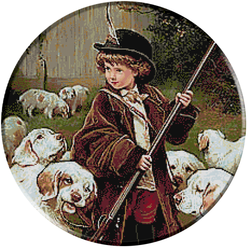 1876.Charles Burton Barber - Noul paznic