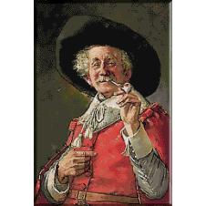 1890.Edmond Louyot - Fumatorul de pipa