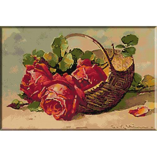 1898.Klein - Cos cu trandafiri