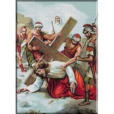 2029.Christos cade a doua oara