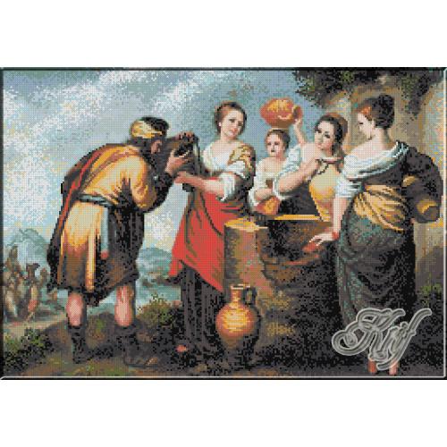 163.Murillo- Rebecca si Eliezer