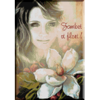 1060.Cristina - Zambet si flori