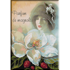 1063.Cristina - Parfum de magnolie