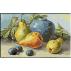 1858.Klein - Pere si trei prune brumate