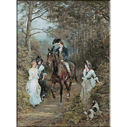 1895.Heywood Hardy - Intalnirea din padure